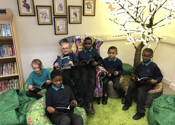 Castle Academy unveils newly refurbished library to promote reading