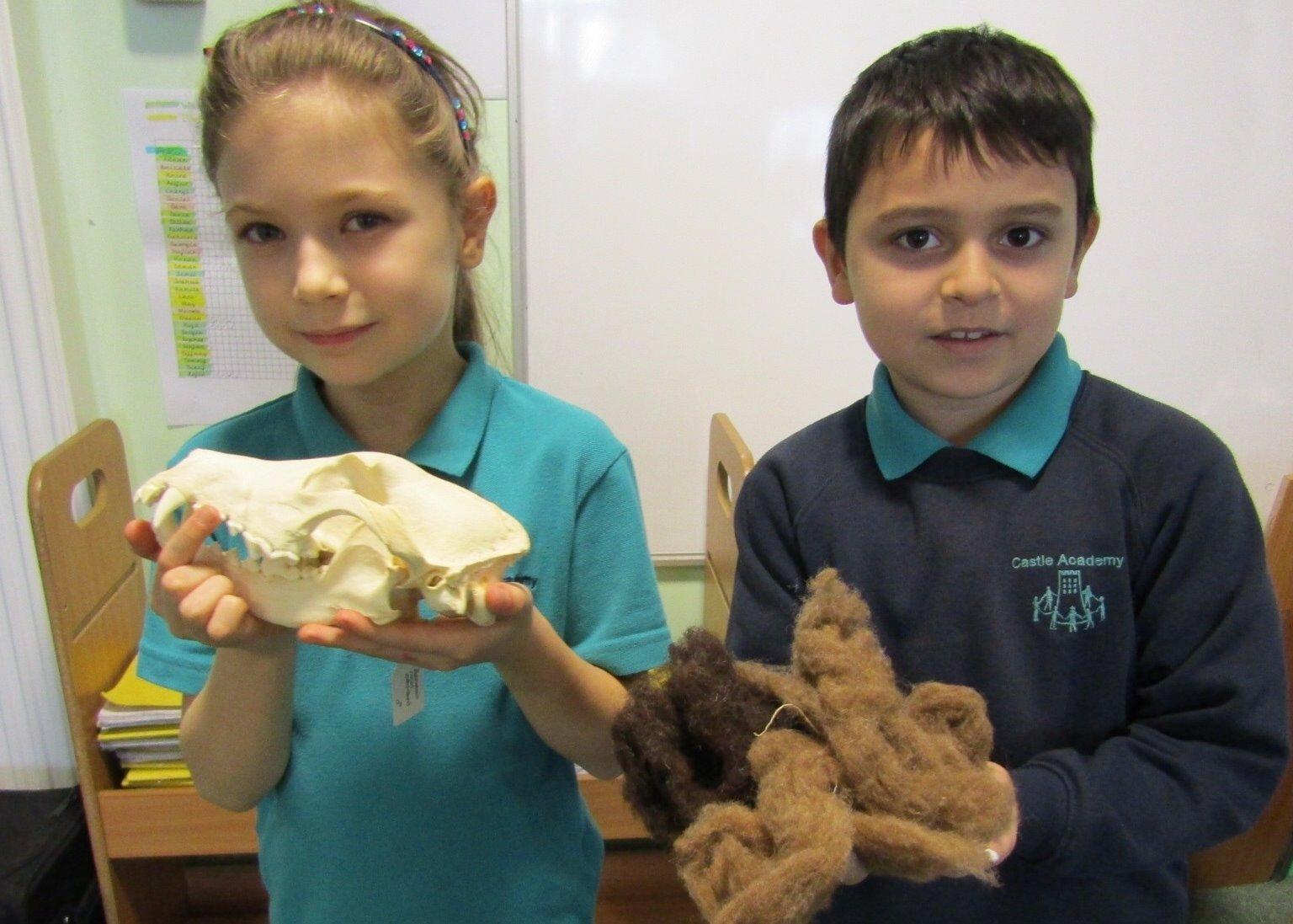 Castle Academy pupils step back in time for new archaeology sessions