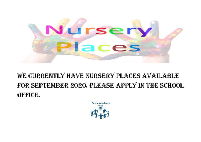 We currently have Nursery Places available for September 2020