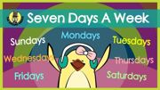 Days of the week activity 3
