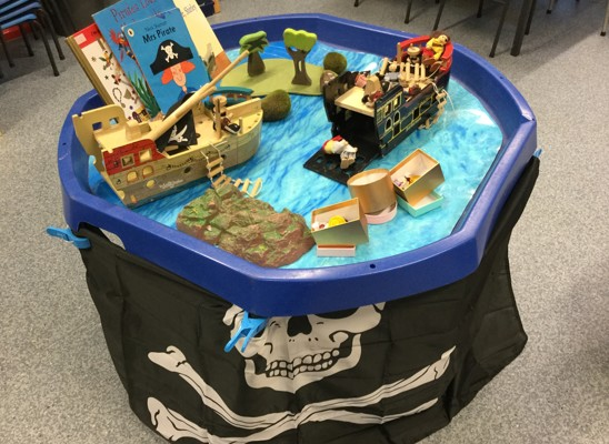 Pirate table